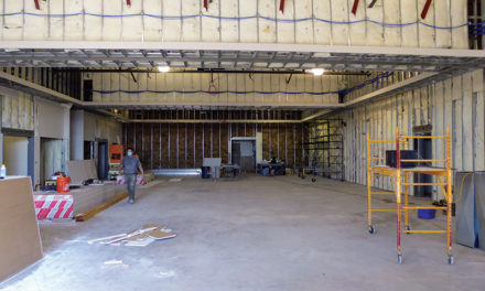 Work resumes on vacant National Guard armory