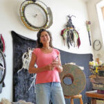 New York sculptor settles down in Magdalena