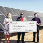 SEC awards rebate check to Socorro schools