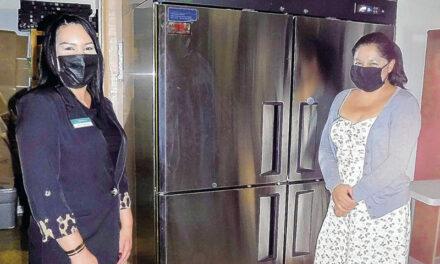 Washington Federal gets new fridge for Storehouse