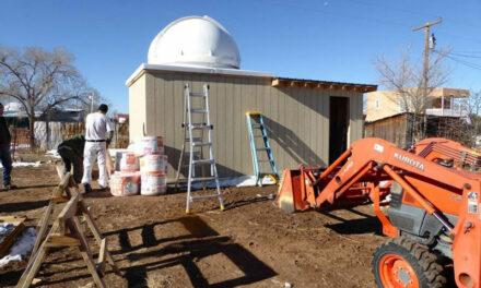 Observatory for kids goes up in Magdalena