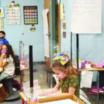 Elementary students return to hybrid learning
