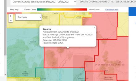 Socorro County in the Red. Again.