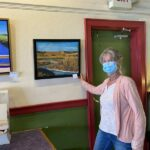 Local artist Donna Warby displays work at M Mountain Coffee