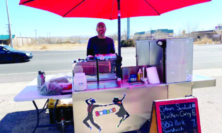 Sanchez brings his Cubish food truck to Socorro County
