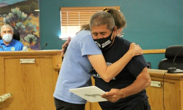 Board recognizes firefighters and medical workers for service in pandemic