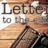 Letter to the Editor: Dog attacks