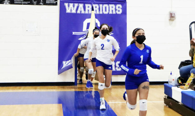 Lady Warriors remain on top