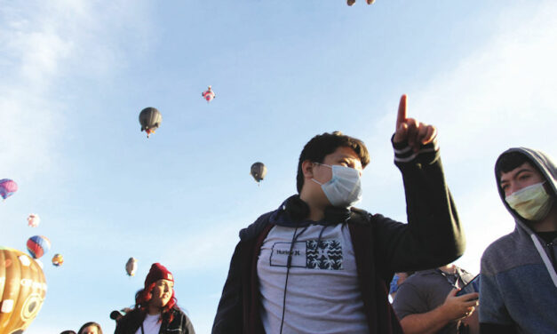 Hands-on learning at Balloon Fiesta