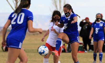 Lady Warriors shutout Sandia Prep, Hatch