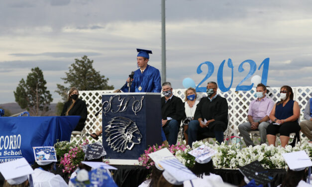 Hard-of-hearing student graduates as salutatorian