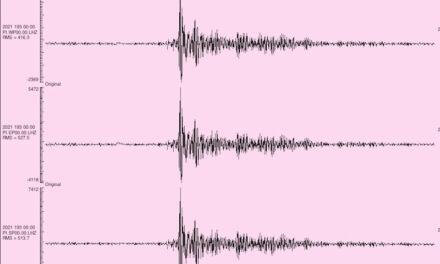 New Mexico quake  monitored at New Mexico Tech