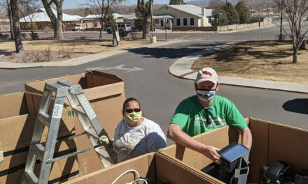 Tech students make sport of recycling