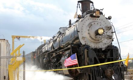 Historic train steams ahead after 21 year restoration project
