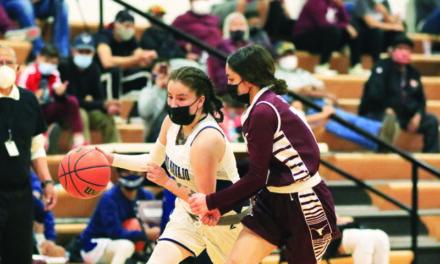 Alamo and Magdalena Girls Basketball