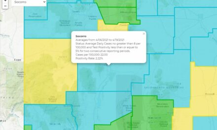 County's color code back to Turquoise
