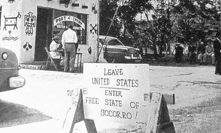 The Free State of Socorro, 1953: Amusing Publicity Stunt or Serious Attempt at Secession?