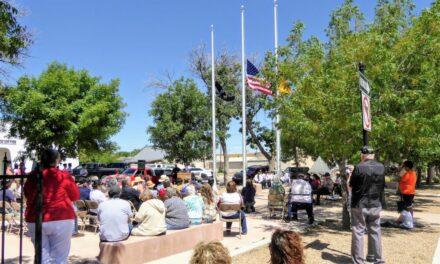 Memorial Day service returns after COVID hiatus