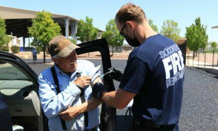 DOH, Socorro Fire Department wrap up vaccine clinics