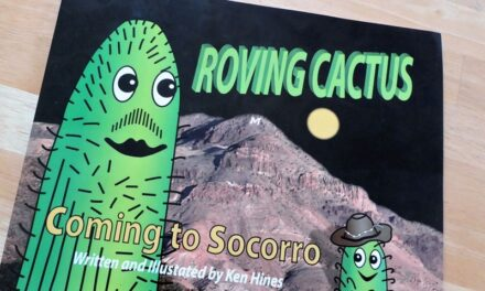 Cacti come to town in new children's book