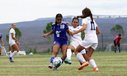 Faith Lucero scores lone goal in Lady Warriors' win over St. Michaels