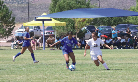 Lady Warriors make it five in a row