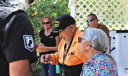 Combat Veterans Motorcycle Association honors San Antonio WWII veteran